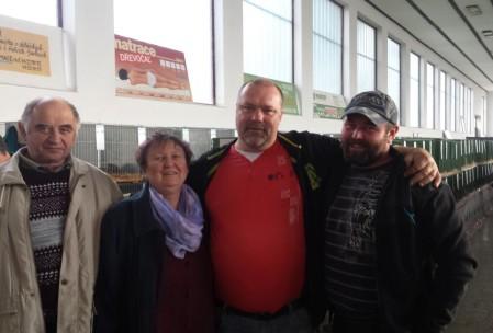setkání na výstavě Slavkov 2015